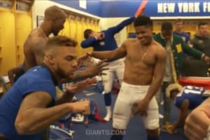 new york giants mannequin challenge