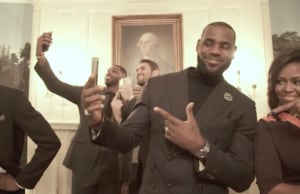 cleveland cavaliers lebron james michelle obama