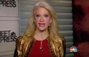kellyanne conway meet the press donald trump anti trump protests protest
