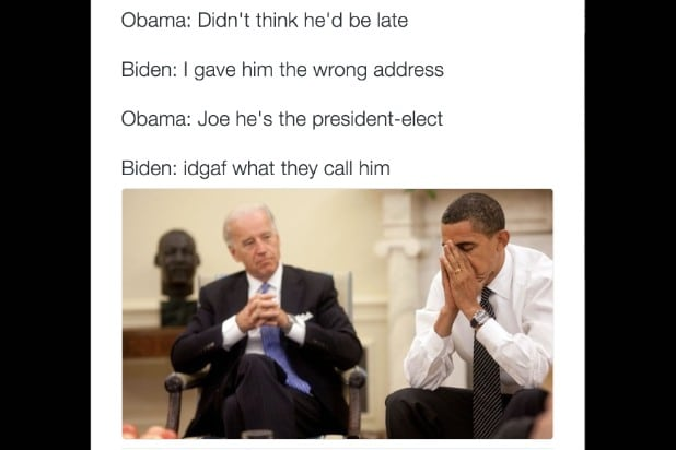 Screen Shot 2016 11 14 at 3.18.40 PM 21 joe biden memes that won the internet and our hearts (photos)