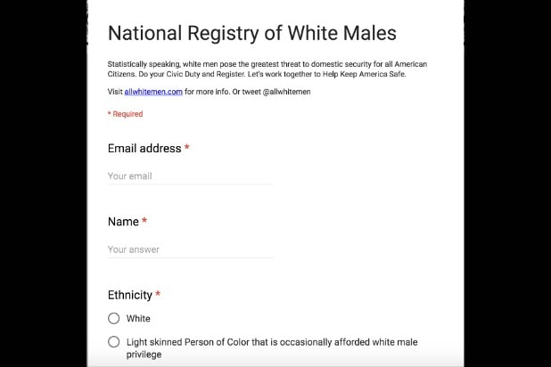 white male registry