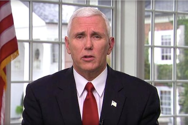 mike pence cubs face the nation hamilton reaction response wasnt offended