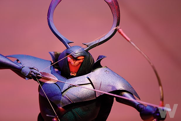 Kubo and the Two Strings beetle model
