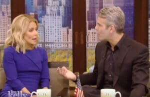Andy Cohen Kelly Ripa