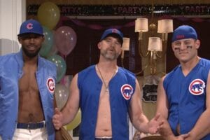 chicago cubs strippers snl Saturday night Live