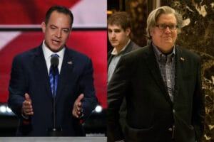chief of staff Reince Priebus Steve Bannon