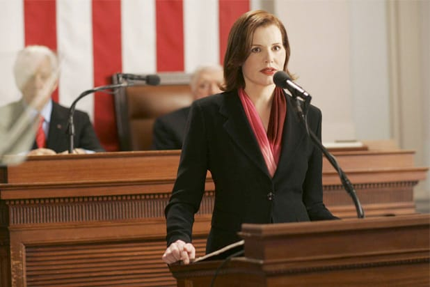 commander in chief geena davis female president