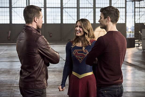 Arrow The Flash Supergirl Crossover