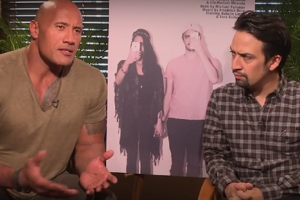 Dwayne Johnson and Lin-Manuel Miranda Reveal Plans for 'Millennials: The Musical' (Video)