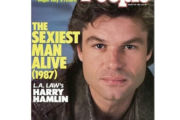harry hamlin sexiest man alive