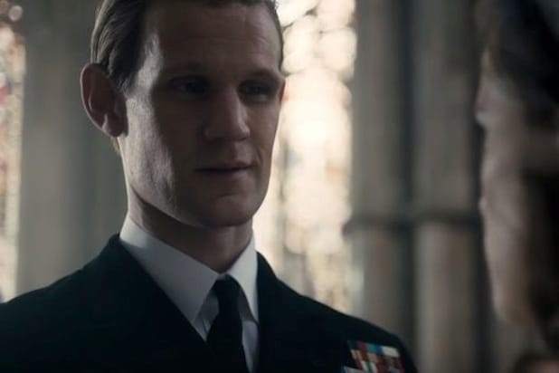 matt smith prince philip the crown