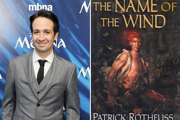 Lin-Manuel Miranda to produce The Kingkiller Chronicles TV and film adaptations