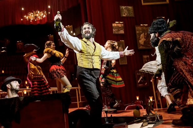 natasha pierre and the great comet of 1812 josh groban