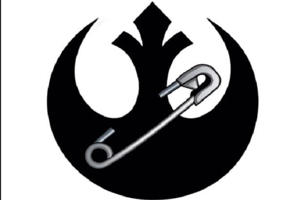 rogue one star wars safety pin