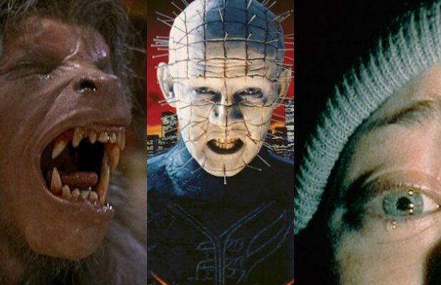 scariest movies streaming netflix amazon prime hellraiser blair witch american werewolf