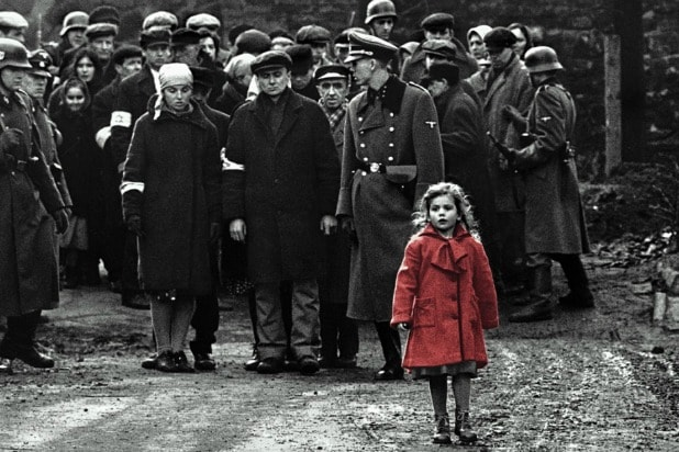 schindler's list thanksgiving