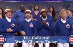 snl saturday night live go cubs go bill murray