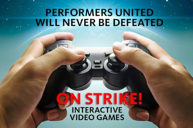 video game actors strike social SAG Aftra screen actors