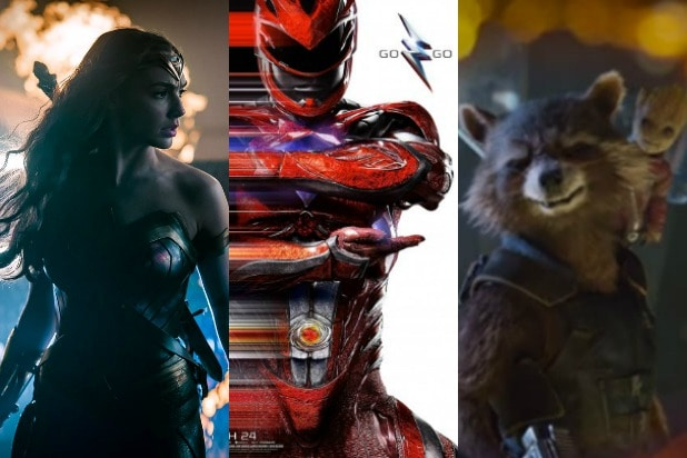superhero movies 2017