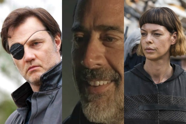 the walking dead twd leaders ranked negan jadis governor rick