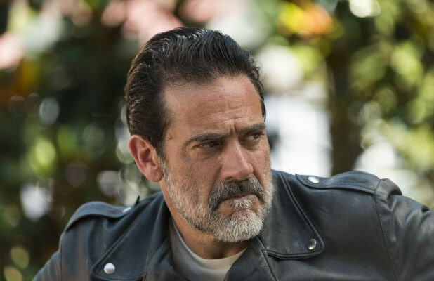 walking dead negan alexandria