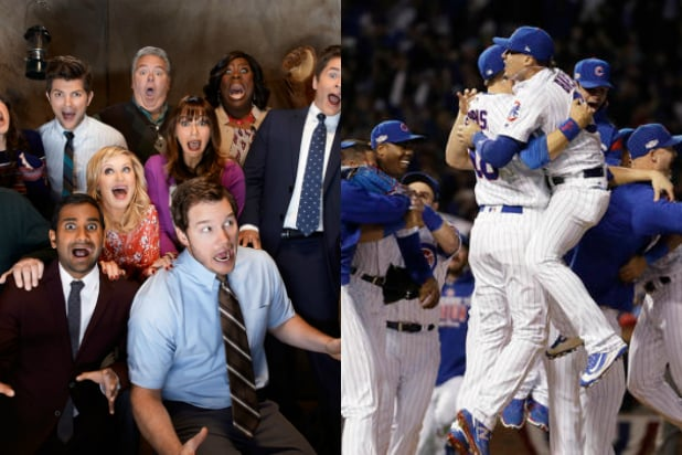 world series parks and recreation chicago cubs