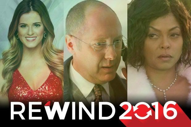2016 shows rewind empire blacklist