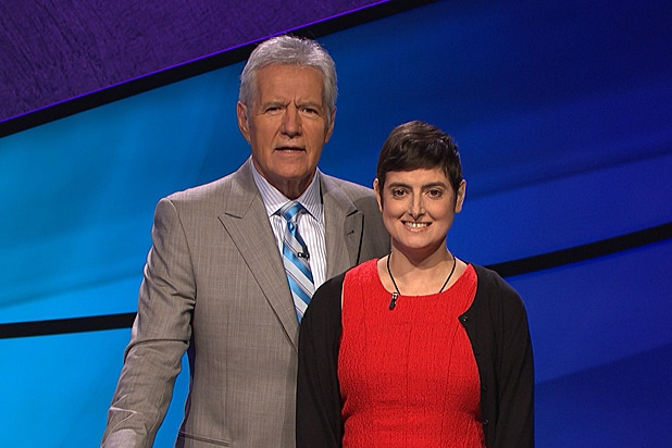 Alex Trebeck and Cindy Stowell on Jeopardy .jpg