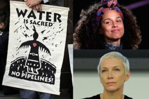 alicia keys annie lennox dakota pipeline