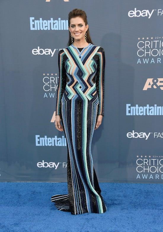 Allison Williams 22nd Annual Critics' Choice Awards - Arrivals