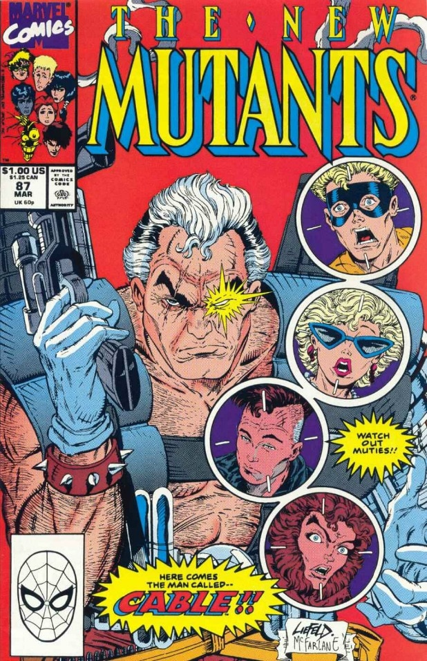 Cable New Mutants 87