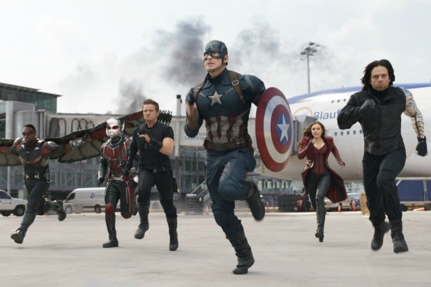 Captain America Civil War Airport Battle
