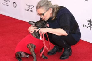 Carrie Fisher Dog Gary