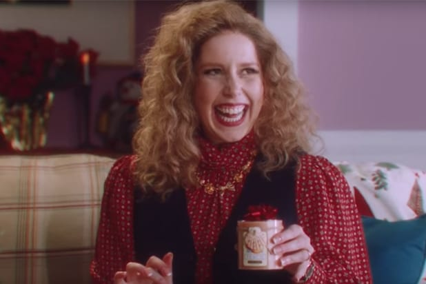 SNL Christmas Candle Saturday Night Live Vanessa Bayer