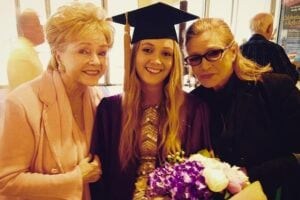 debbie reynolds billie lourd carrie fisher