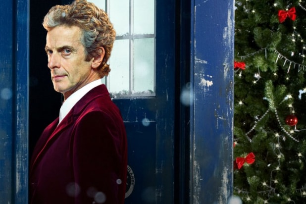 Doctor Who Christmas Special 2016.Doctor Who Christmas Special Is Bbc America S Top Telecast