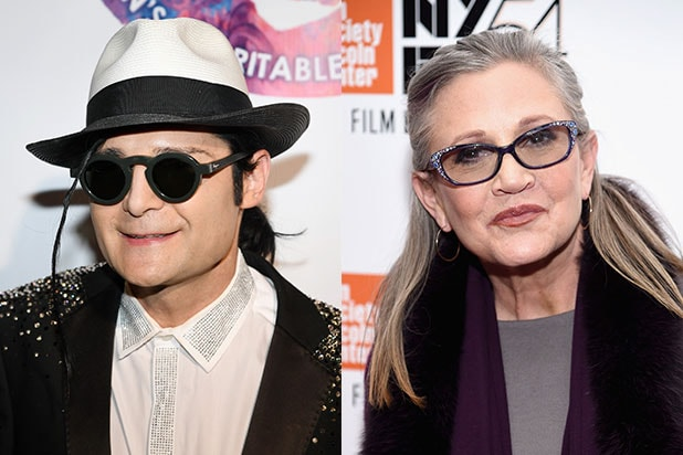 Corey Feldman Carrie Fisher Drugs