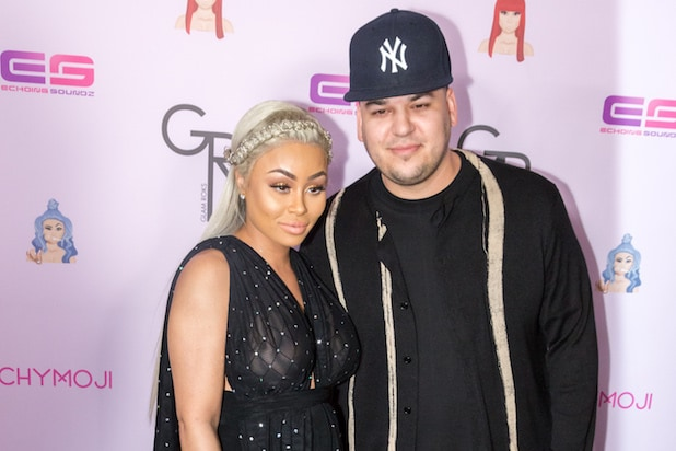 Blac Chyna Seen Kissing Another Man Amid Rob Kardashian Drama