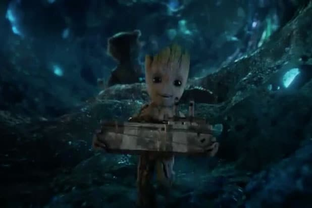 guardians of the galaxy vol 2 is baby groot the same person as