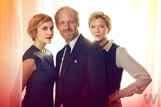Greta Gerwig Mike Mills and Annette Bening