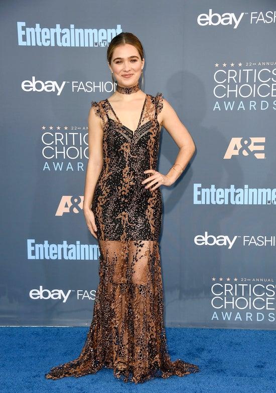 Haley Lu Richardson 22nd Annual Critics' Choice Awards - Arrivals