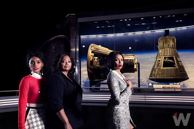 Janelle Monáe, Taraji P. Henson and Octavia Spencer, Hidden Figures