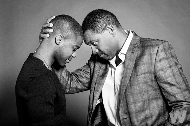 Jovan Adepo and Mykelti Williamson, Fences