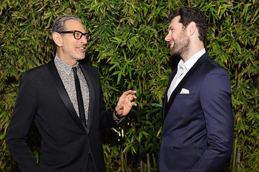 LOS ANGELES, CA - DECEMBER 08: Actors Jeff Goldblum (L) and Billy Eichner attend the 2016 GQ Men of the Year Party at Chateau Marmont on December 8, 2016 in Los Angeles, California. (Photo by Stefanie Keenan/Getty Images for GQ)