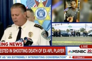 MSNBC Cuts From Joe McKnight Press Conference When Sheriff Drops NSFW Language (Video)
