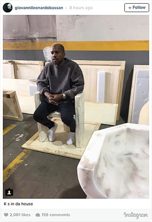 Kanye West Is Back And Blonder Than Ever Sfgate