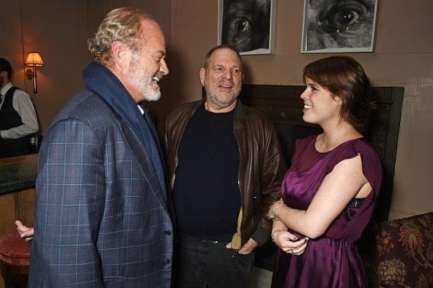 Kelsey Grammer, Harvey Weinstein, Princess Eugenie