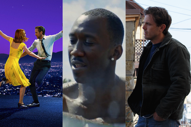 oscars La La Land Moonlight Manchester by the Sea