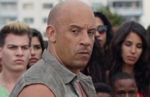 The Fate of the Furious Vin Diesel