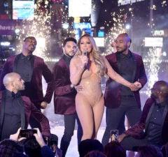 Mariah Carey New Year's Eve 2017
